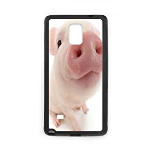 Clzpg Custom Samsung Galaxy Note4 Case - Pink piggy phone case