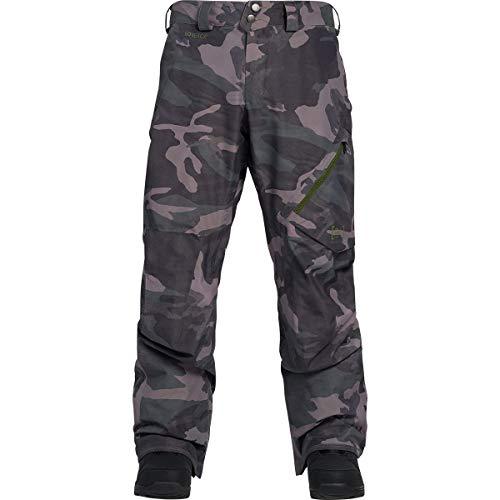 Burton Men's AK Gore-Tex Cyclic Pant - Wormwood Camo - L -
