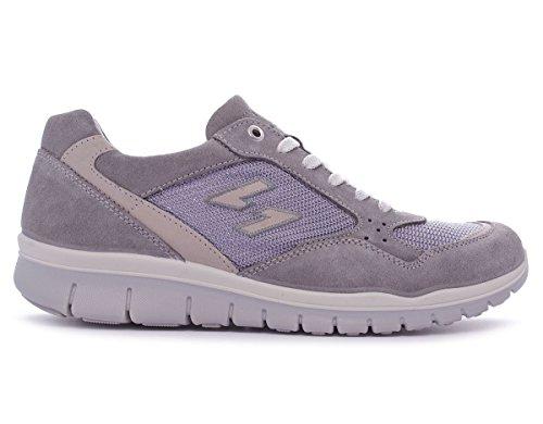 Igi&Co UBN1 herren, canvas, sneaker low Grigio