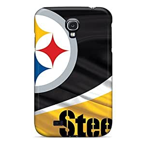 GAwilliam Galaxy S4 Hybrid Tpu Case Cover Silicon Bumper Pittsburgh Steelers