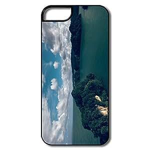 Durable Wooded Island Pc Case For IPhone 5/5s wangjiang maoyi