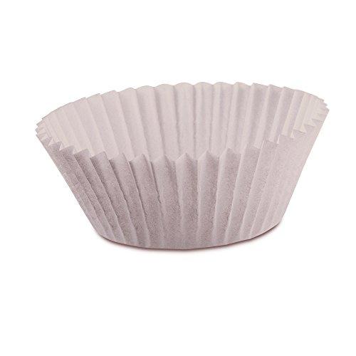 Kaiser 200 Mini-Muffin-Papierbackfoermchen 4,5 cm Muffin World, weiss 646312