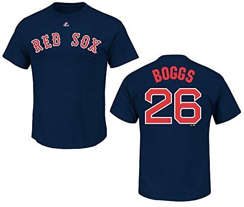 【限定特価】 ボストンレッドソックスウェイドボッグスNavy名前と番号Tシャツ Large Large B00CY4PRI0 ブルー ブルー B00CY4PRI0, キサワソン:4ccc6635 --- a0267596.xsph.ru