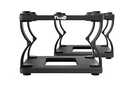 Fluid Audio, FA-DS8, Fluid Audio DS8 Desktop Stand (Pair) by Fluid Audio