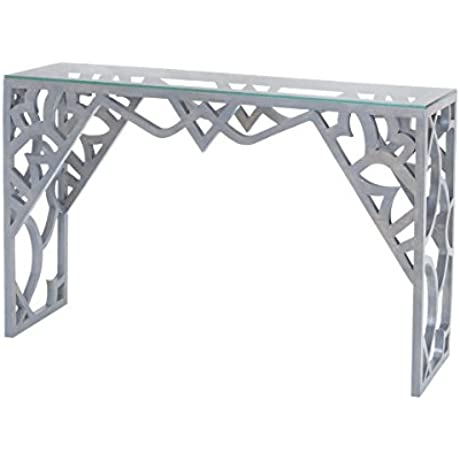 Dimond Home Bain Console Table In Antique Smoke
