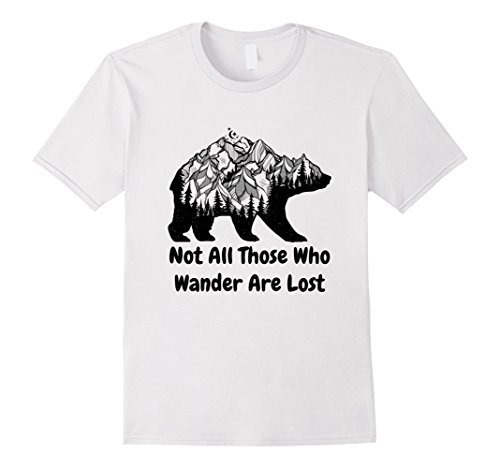 Not All Those Who Wander Are Lost (Lost Womens Pink T-shirt)