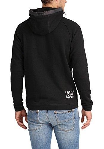 Al Suave Polar Hoodie Tacto Black 9000 Con Forro Para solid Capucha Benjihood Suéter Hombre Sudadera qPUwHRwxA