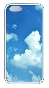 iPhone 5 5S Case Egypt Cloud TPU Custom iPhone 5 5S Case Cover White