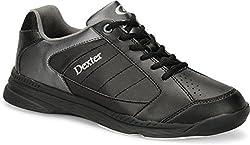 Dexter Men's Ricky Iv Wide Bowling Shoes, Blackalloy, Size 10