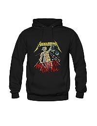 Metallica - And Justice For All Mens hoody Sweatshirt L Black