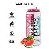 OPTIMUM NUTRITION ESSENTIAL AMINO ENERGY Plus Electrolytes Sparkling Hydration Drink, Watermelon, Keto Friendly BCAAs, 12 Count
