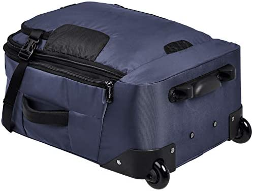 AmazonBasics Mercer Wheeled Duffel, Blue