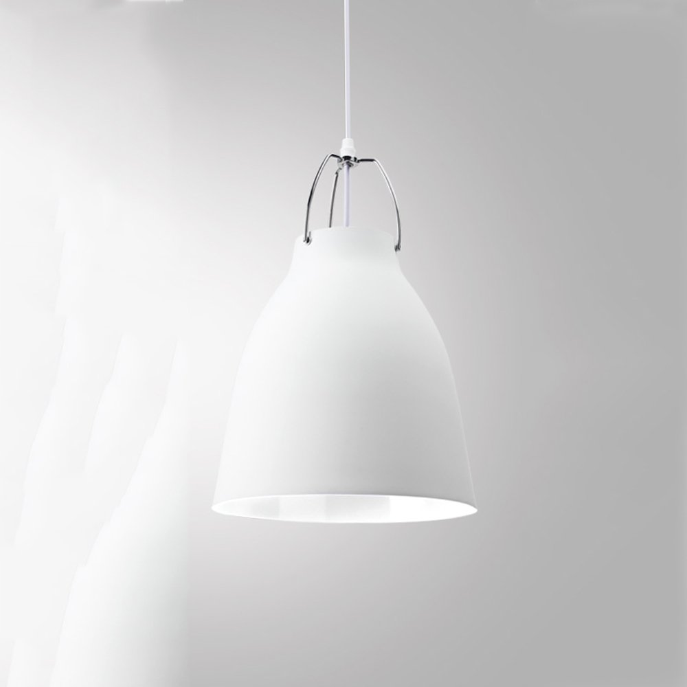 Ganeep ganeep black white pendant lights modern minimalist single head pendant lights nordic office lamp bedroom dining table living room aisle e27 hanging