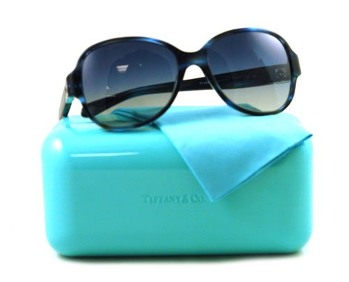 Tiffany Gafas de sol TIF 4046 Azul 8113/4L tif4046: Amazon ...