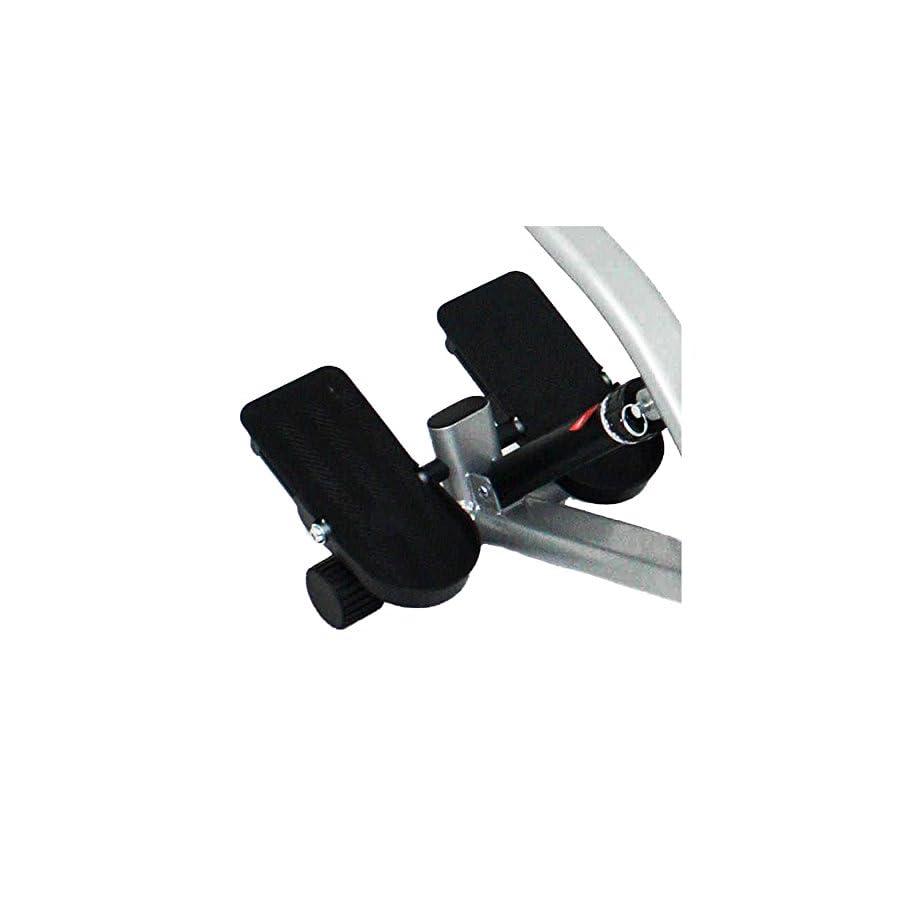 Sunny Health & Fitness SF RW1205 12 Adjustable Resistance Rowing Machine Rower w/ Digital Monitor