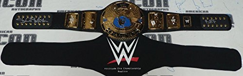 Stone Cold Steve Austin Signed WWE Attitude Era Replica Title Belt BAS COA BMF - Beckett Authentication