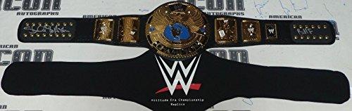 Stone Cold Steve Austin Signed WWE Attitude Era Replica Title Belt BAS COA BMF - Beckett Authentication ()