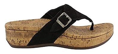 Amazon.com: Vionic Marbella Sandalia de tanga para mujer: Shoes