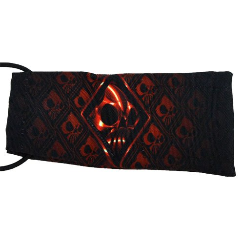 Wicked Sports Barrel Sock / Cover - Wicked Skulls - Red