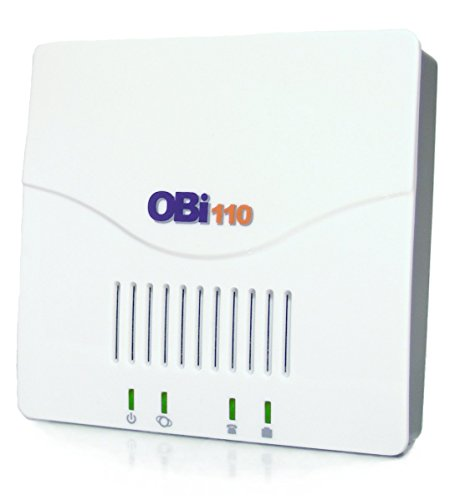 (Obihai OBi110 Voice Service Bridge and VoIP Telephone Adapter)