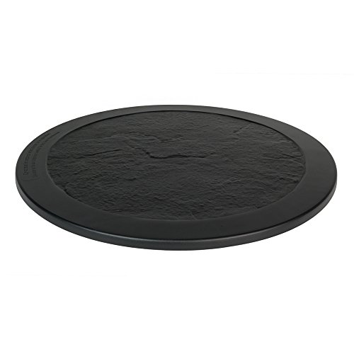 Burners Hard (Agio Cast Aluminum Burner Cover (Round Lazy Susan Black))