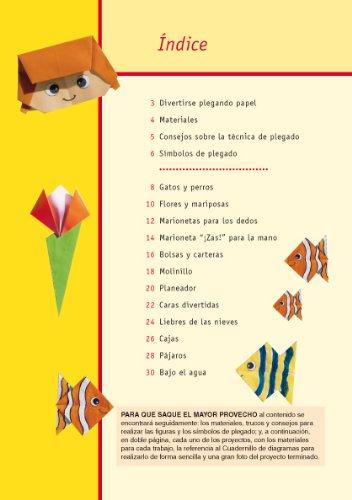 Origami para niños : nuevas figuras de papel plegado: Miyuki ; Nieto Silva, Eva Lacza: 9788498742138: Amazon.com: Books