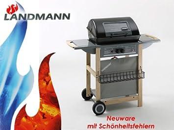 Landmann Gasgrill Welches Gas : Landmann grill gasgrillwagen oder holzkohlegrill kaufen