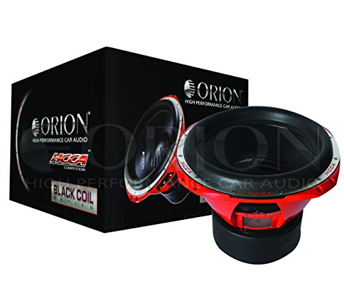 "ORION HCCA Series SUBWOOFER CAR Audio CAR Stereo SUB WOOFER (HCCA154 / 15"" 4 OHMS)"