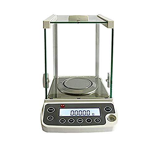 ZGUO Electrónico analítica equilibrio y precisión Digital escala 120 g/0.1mg