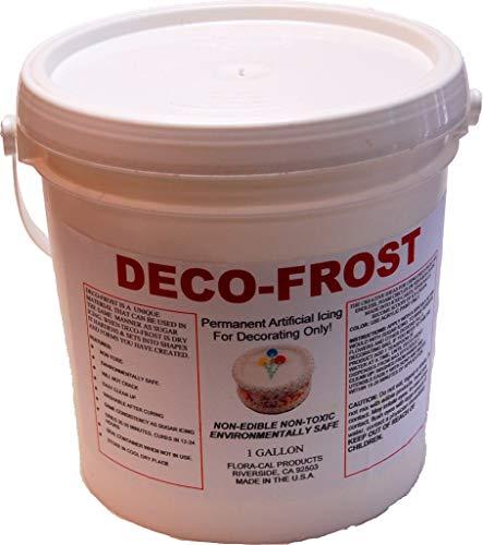 (Deco-Frost 1 Gallon Artificial Non-Edible Fake Icing)