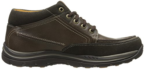 Skechers Expected Cason, Sneaker Uomo Marrone (Marrone (Choc))