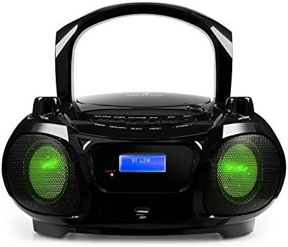 auna Roadie Dab - Boombox , Equipo de música , Reproductor de CD ...