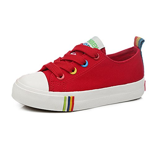 Btrada Kids Unisex Canvas Side Zipper Sneakers(Toddler/Little Casual Sport Athlestic Sneakers(Toddler/Little Zipper Kid/Big Kid) B01NCM4458 Shoes ba5b9c