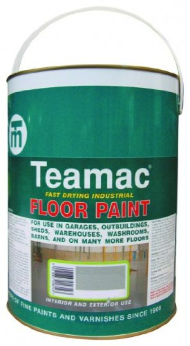 Industrial Floor Paint - Forest Green - 5 Litre Teamac