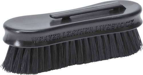 Weaver Leather Small Pig Face Brush, Black (Clip Pig)