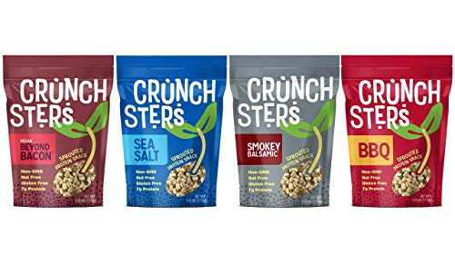 Variety Bean Pack - Crunchsters 4oz Variety - 4 Bags