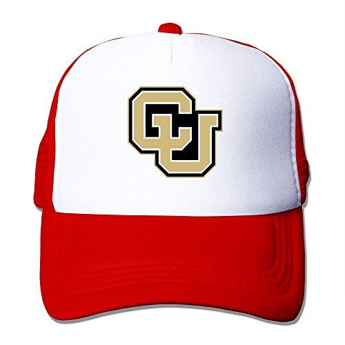 KyDoc Adjustable Baseball-caps University Of Colorado Boulder CU Logo Meshback Hat 17-24 In - Dress Shops Hanover