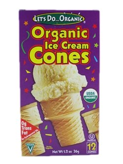 Let's Do Organic: Organic Ice Cream Cones (1 X 1.2 Oz)