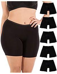 02295863e4ca Women's Regular & Plus Size Stretch Cotton Long Leg 6.5