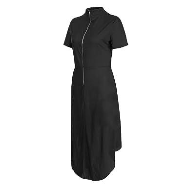 fe919a250 ChenJUN Women s Dresses-Summer Solid Bohemian Casual Long Evening ...