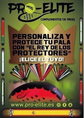 Protector Básico Pro-Elite para Pala de Padel (Negro): Amazon.es ...