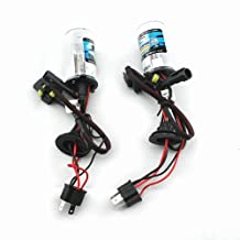 Car HID Xenon Dual Beams Lights Bulbs Lamps H4L 4300K Sunlight White(12V,35W) - 1 Pair
