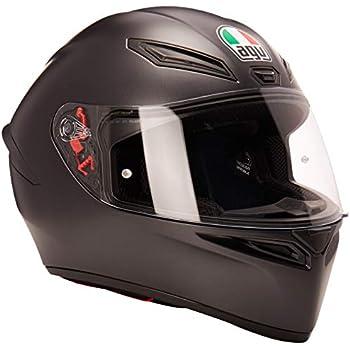 Amazon.com: AGV K3 SV Adult Helmet - Matte Black/Large ...