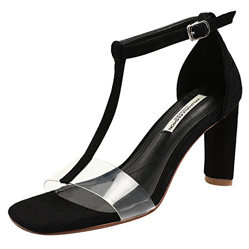 AGECC Transparent Heels High with of High black Sandals Heels rfFd1wqnra