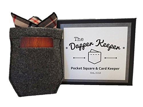 The Dapper Keeper Pocket Square Holder