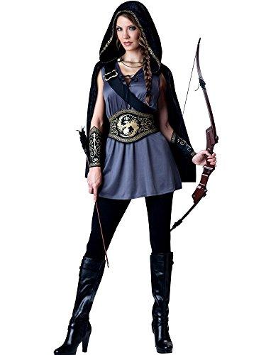 [Hooded Huntress Costume - Small - Dress Size 2-6] (The Huntress Arrow Costume)