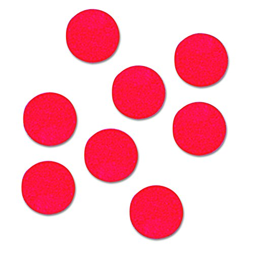 Quartet Magnetic Circles (Quartet Magnetic Circles, 0.75-Inch Diameter, Red, 20 per Set (MCR))