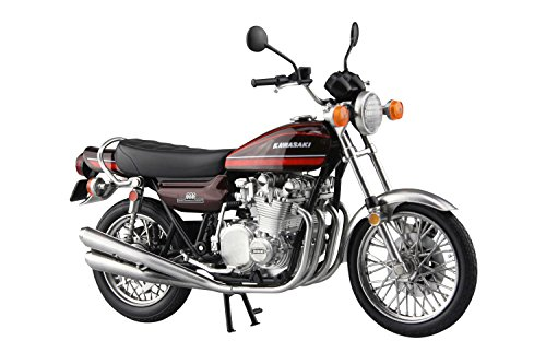 Aoshima Skynet 04613 Kawasaki 900Super4 (Z1) Orange for sale  Delivered anywhere in USA
