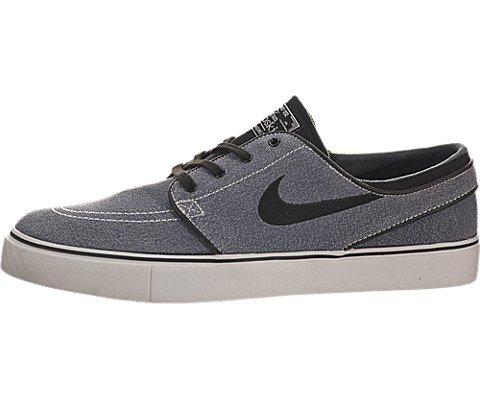 Nike SB Zoom Stefan Janoski - Sail / Light Ash Grey-Gum Light Brown-Black, 13 D US