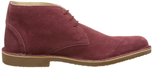 Hush Puppies Lord, Men's Desert Boots Red (Bordeaux Perm 18)